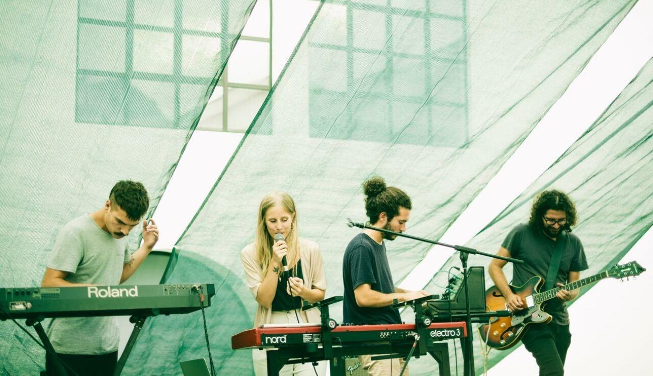 Actuação de Lince (Foto: Vera Marmelo)