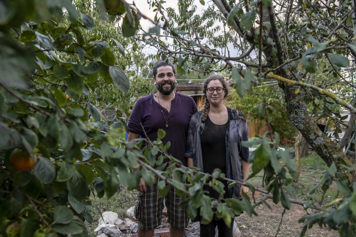 Pipo e Rute, mentores do projecto Liberta-te e nossos anfitriões em mais um jantar à Lentriscas em Castelo