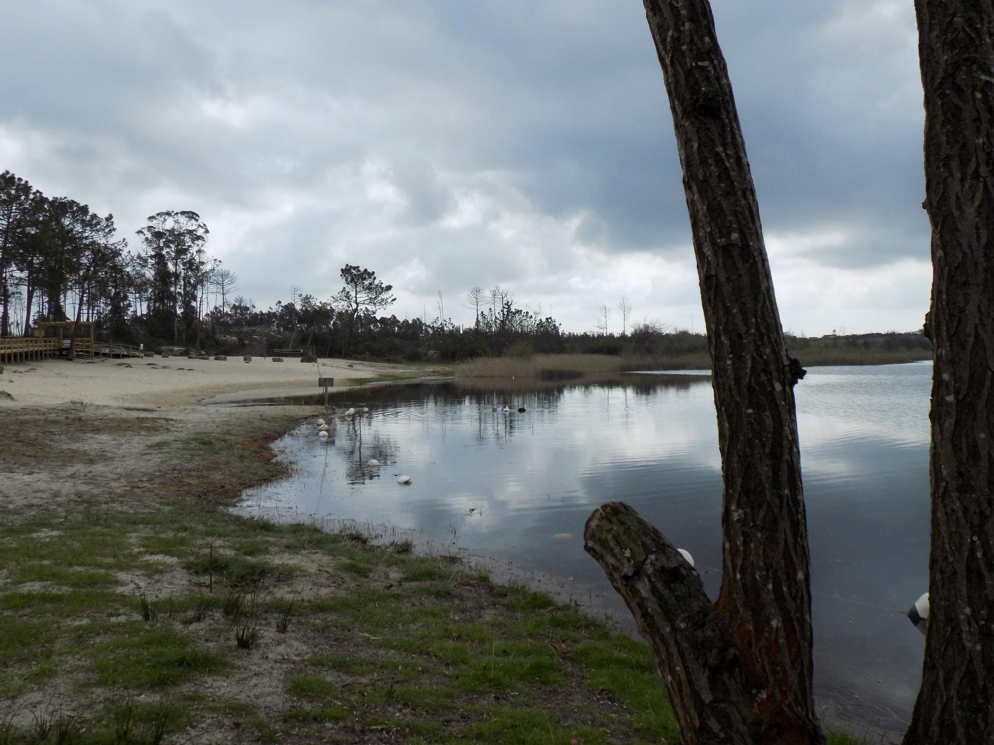 Lagoa da Ervedeira (Concelho de Leiria) Março de 2021