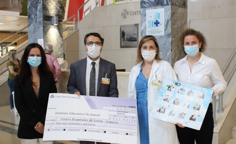 centro-hospitalar-de-leiria-recebe-donativo-do-instituto-educativo-do-juncal
