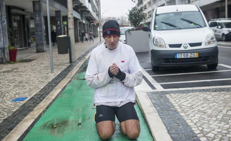 Carlos Palanca homenageou Carlos Vieira na ciclovia que terá o seu nome