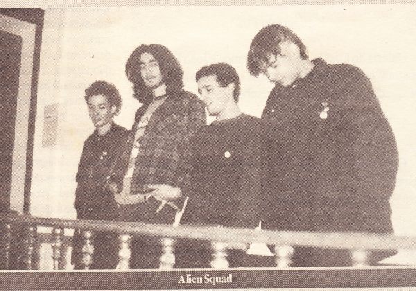 Alien Squad 1994 in Jornal de Leiria