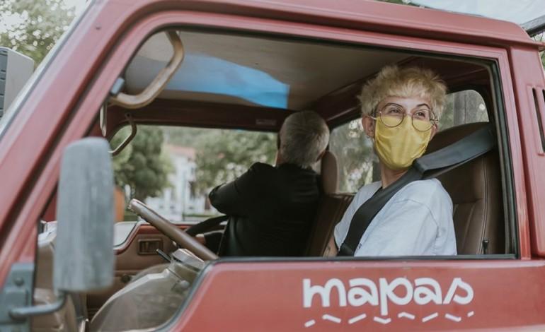 Surma ao volante da carrinha do Mapas