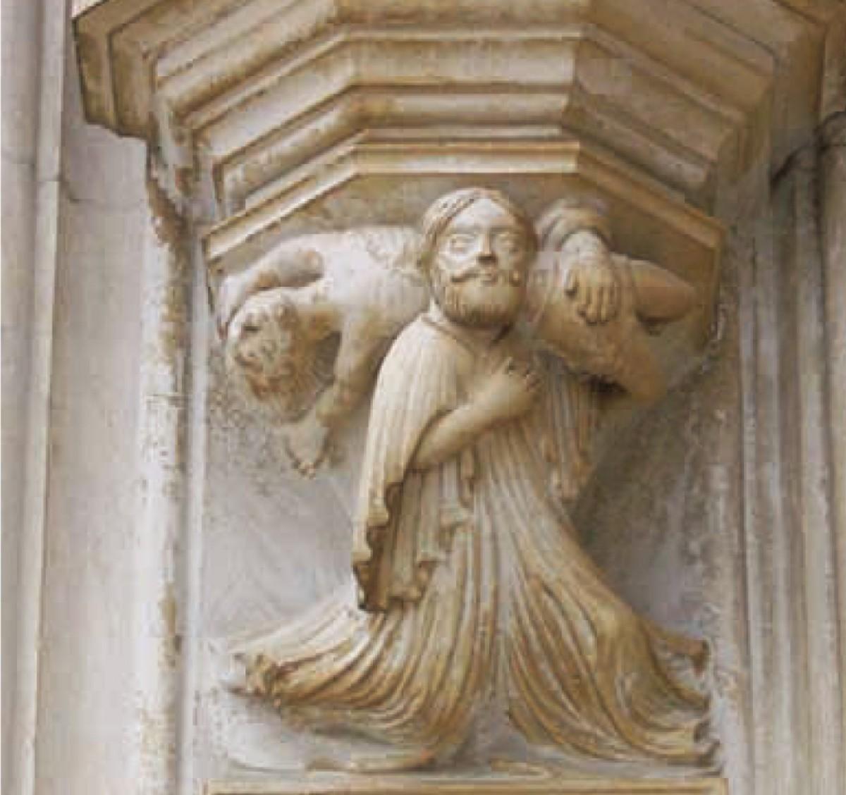 Luta de Hércules contra Anteu, Mosteiro da Batalha