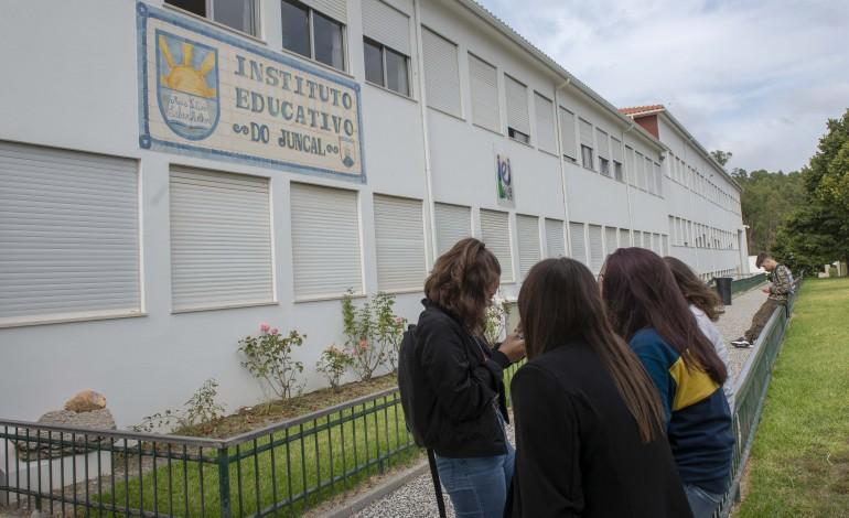 Os alunos foram obrigados e deixar a escola e ir para casa aprender à distância