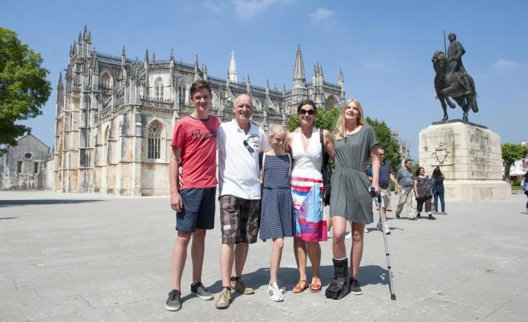 Familia Wydaeghe escolheu Portugal como destino de férias