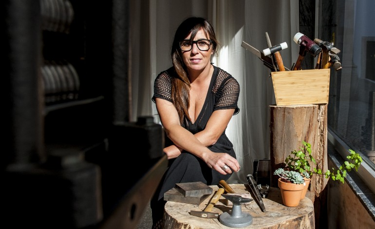 Sandrine Vieira (Fotografia: Ricardo Graça)