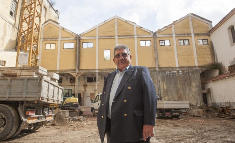 Armando Lopes concretizou o projecto há muito adiado de requalificação da moagem de Leiria - Foto: Ricardo Graça
