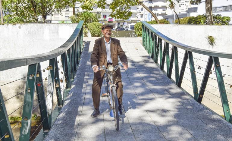 José Lopes Ferreira recuperou a bicicleta quando deixou de poder conduzir